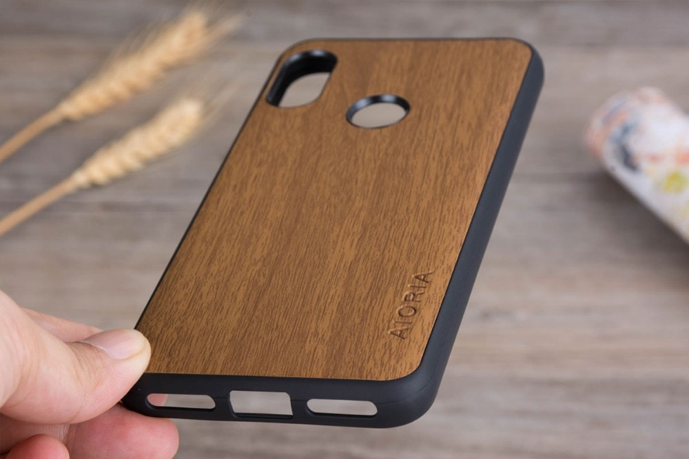 کاور طرح چوب Xiaomi Redmi Go Wooden Cover
