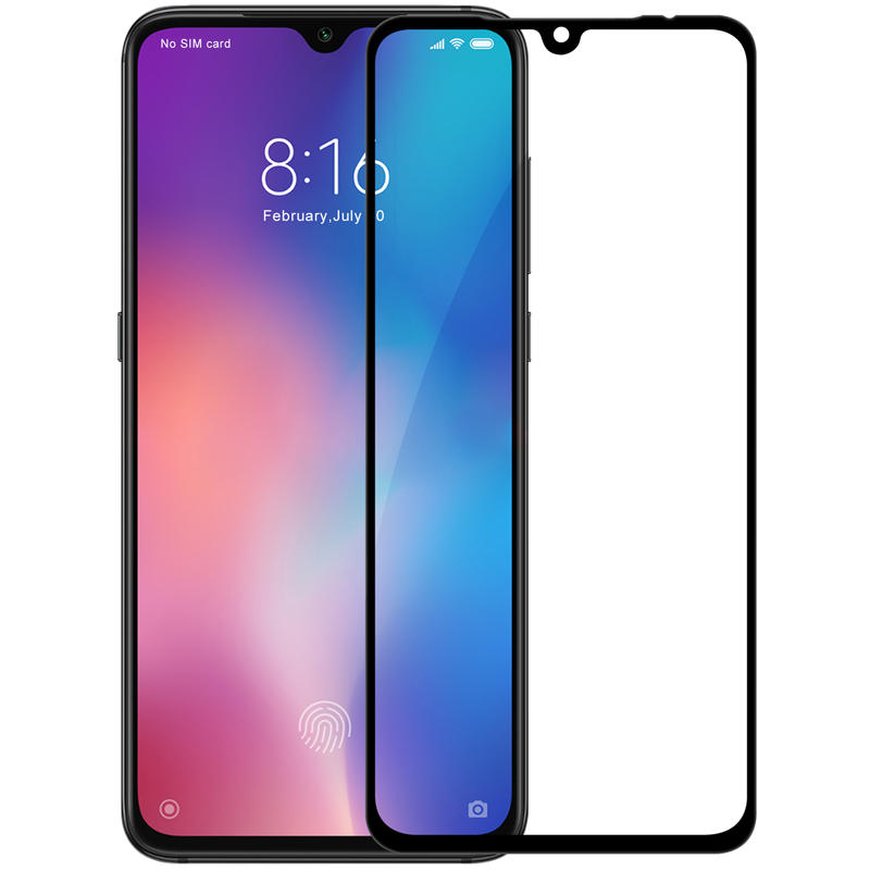 گلس تمام چسب Xiaomi Mi 9 Full Glass