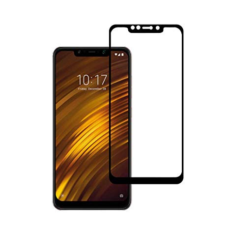 گلس فول چسب Xiaomi Poco F1 Full Glass