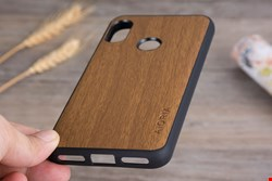 کاور طرح چوب Xiaomi Redmi 7 Wooden Cover